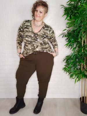 pantalón kaki tallas grandes